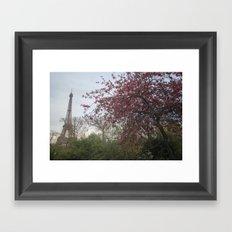 eiffel tower Framed Art Print