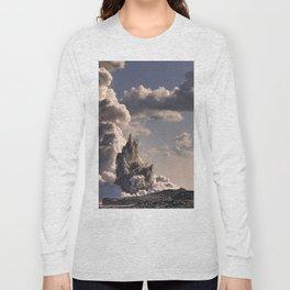 Kilauea Volcano at Kalapana 3b Long Sleeve T-shirt