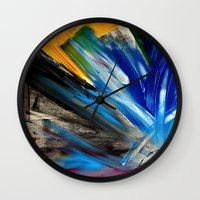 focus Wall Clocks featuring Focus by RvHART