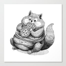 Fat Hamster Canvas Print