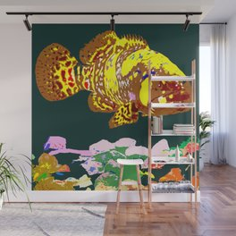 Giant Grouper Fish Wall Mural