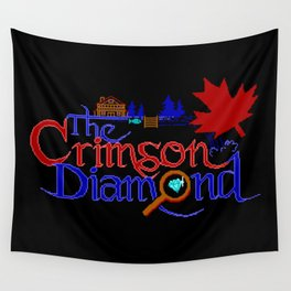The Crimson Diamond colour logo Wall Tapestry