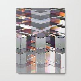 PRISMATIC GLASS LIGHT 1 Metal Print