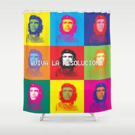 Viva la Resolución - W Edition Shower Curtain