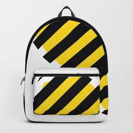 Yellow Love Heart Backpack