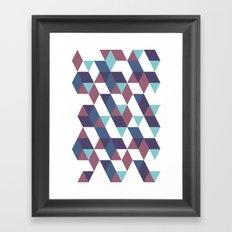 Trangled Framed Art Print