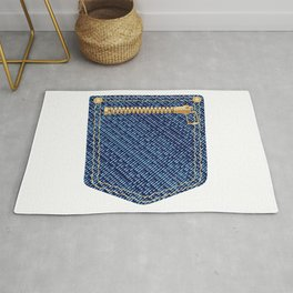 Zipper Pocket Rug