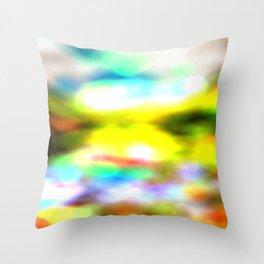 bells blur Throw Pillow