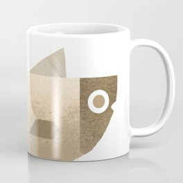 Beige fish Coffee Mug