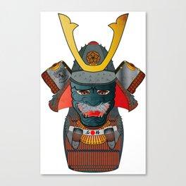 Samurai Matryoshka/Nesting Doll Canvas Print