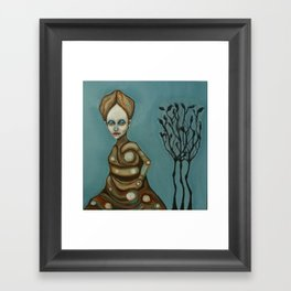 Rousseau`s darling Framed Art Print