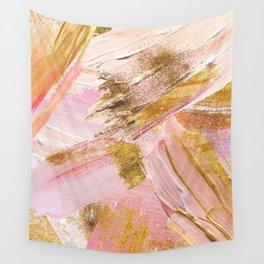 Blush Glitz Wall Tapestry
