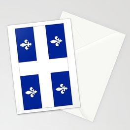 Flag of Quebec Stationery Cards
