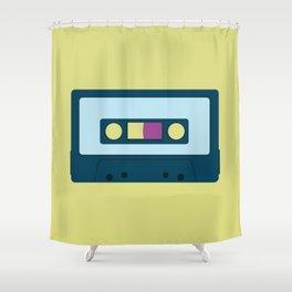 Retro Music Shower Curtain