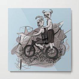 276. Dirt Bike Devils. Metal Print