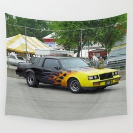 1987 Grand National with flames Wall Tapestry
