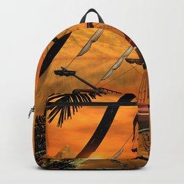 Sunset Backpack