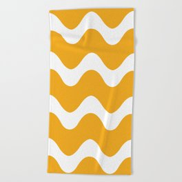 Squiggly Wiggly Beach Towel