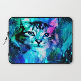 Kitty Cat Laser Lights at the Aleurorave Laptop Sleeve
