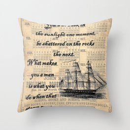 Count of Monte Cristo quote Throw Pillow