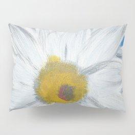 Egyptian Blue Daisy Pillow Sham