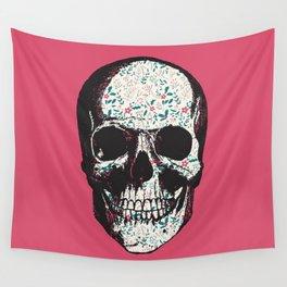 R-Skull Wall Tapestry