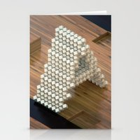 3d Stationery Cards featuring 3d by Posticks