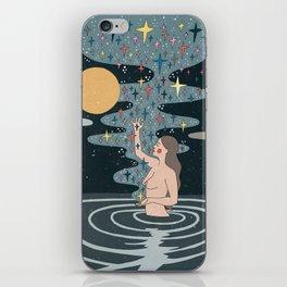 Full Moon blessings iPhone Skin
