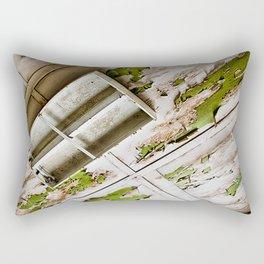 A Peeling Ceiling Rectangular Pillow