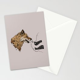 chaos reigns Stationery Cards