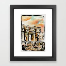 Arco di Contantino Framed Art Print