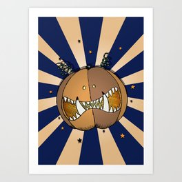 Pumpkin No.3 Art Print