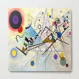Wassily Kandinsky Composition 8 Metal Print