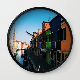 Venice Print Set, Venice Wall Art, Italy Photography Gallery Wall, Europe Wall Art, Europe Decor 5x5 Wall Clock