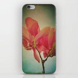 Vintage Spring Flowers iPhone Skin