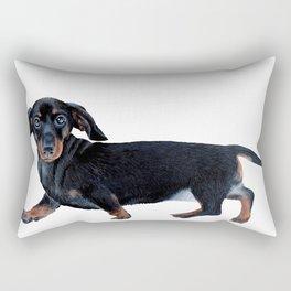 Sausage dog Rectangular Pillow