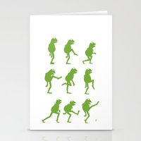 muppet Stationery Cards featuring Ministry of Silly Muppet Walks by 6amcrisis