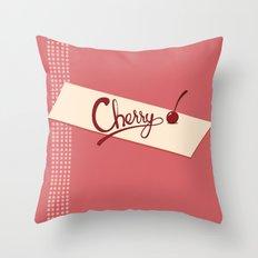 Cherry Throw Pillow