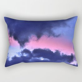 Clouds - Twilight Summer #1 #sunset #decor #art #society6 Rectangular Pillow
