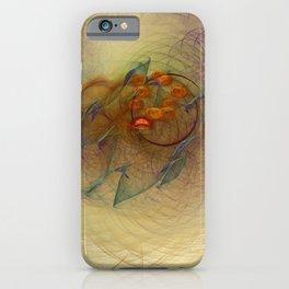 Little Bell Nebula Fractal Art iPhone Case