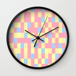 Colours Mozaik Colours Wall Clock
