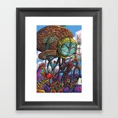 Otherworldly Ecologist Framed Art Print