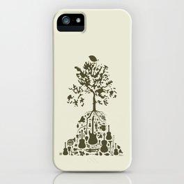 Music Tree iPhone Case