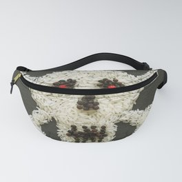 Food Pirate Head Fanny Pack