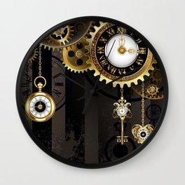 Antique Clock with Keys ( Steampunk ) Wall Clock