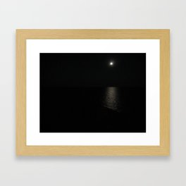 Silent night Framed Art Print