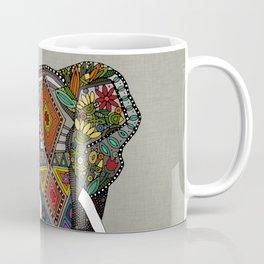 floral elephant stone Coffee Mug