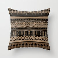 woodland Throw Pillows featuring  WOODLAND by Vasare Nar