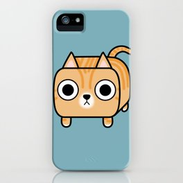 Cat Loaf - Orange Tabby Kitty iPhone Case