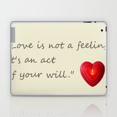 love is.. Laptop & iPad Skin